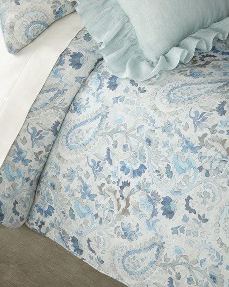 Ines Linen Twin Duvet Cover
