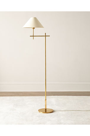 Visual Comfort Golden Floor Lamp
