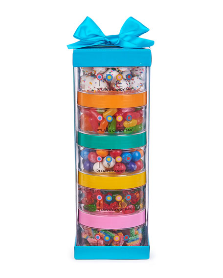 Dylan's Candy Bar Stack-A-Round Gift Set, 5 Pack