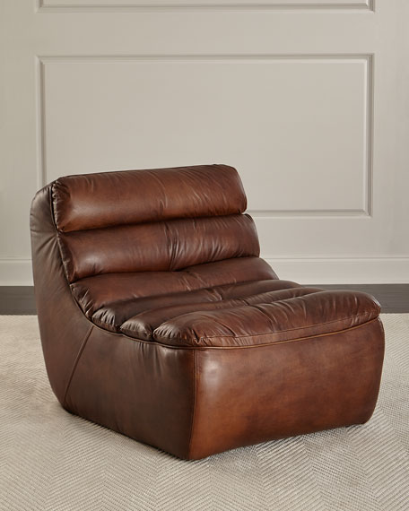 Renee Leather Lounge Chair