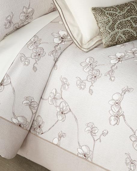Michael Aram Orchid Full/Queen Duvet and Matching Items