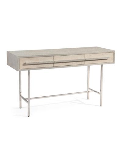 Brinkley Oak Console Table