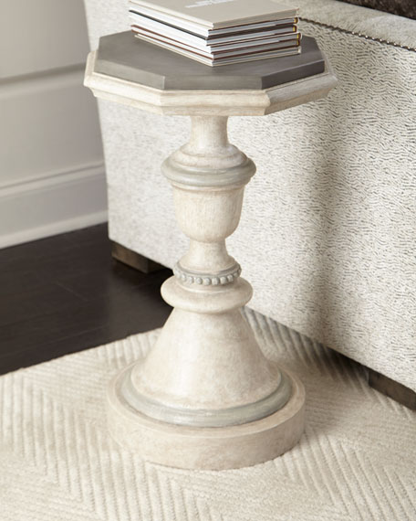Madi Concrete Top Side Table