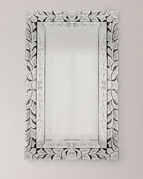 Rectangular Venetian Mirror