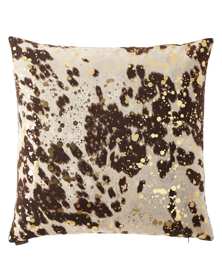 "Motley Moo Milk Pillow, 24""Sq."