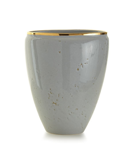 AERIN Paros Medium Textured Ceramic Vase
