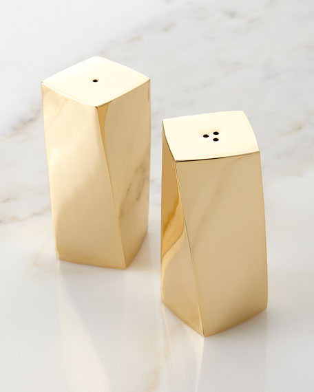 Leon Salt and Pepper Shakers