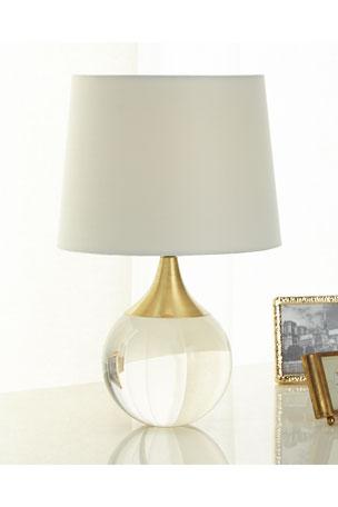 Regina Andrew Fluted Crystal Ball Lamp