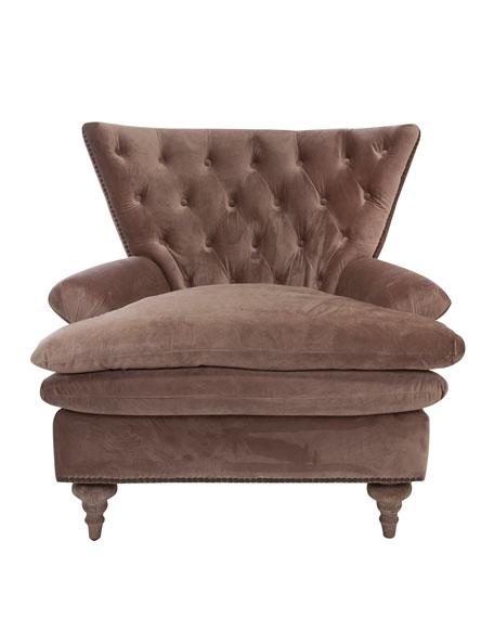 Chevy Velvet Tufted Chair