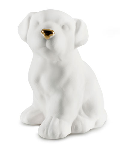 Avery Ceramic Dalmatian White Gold, 15 cm