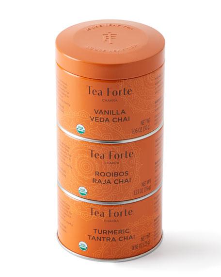 Tea Forte Chakra Tea Trio