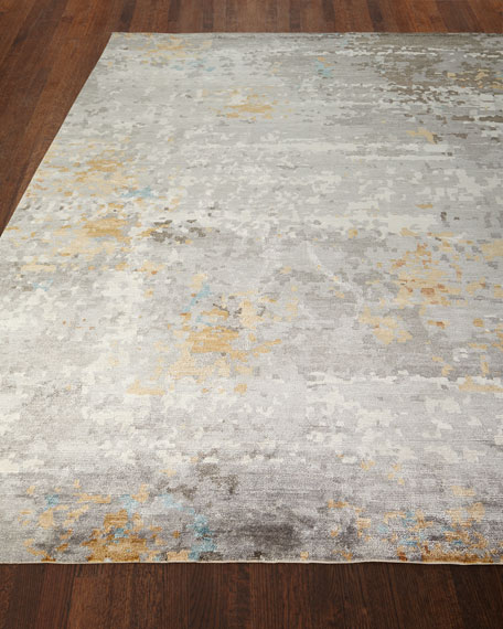 Cobble Hills Hand-Knotted Rug, 6' x 9'