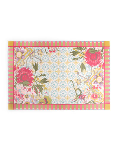Florabundance Floor Mat, 2' x 3'