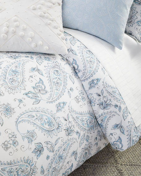 SFERRA Ametta King Duvet Cover Set and Matching