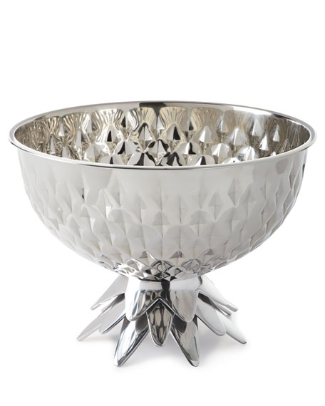 Godinger Pineapple Punch Bowl and Matching Items