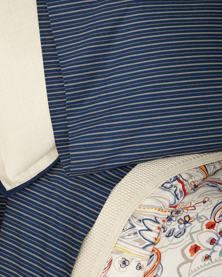 Wendell Stripe Queen Flat Sheet