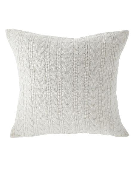 "Davies Decorative Pillow, 20""Sq."