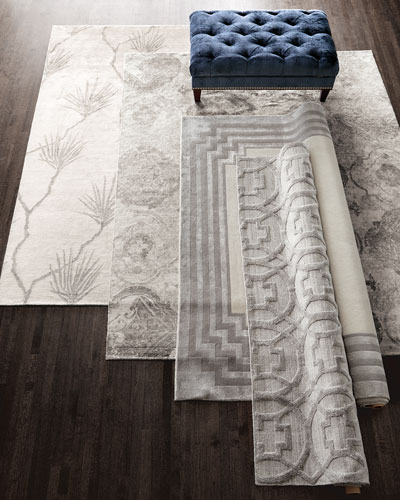 Chattingham Hand-Knotted Rug, 9' x 12'