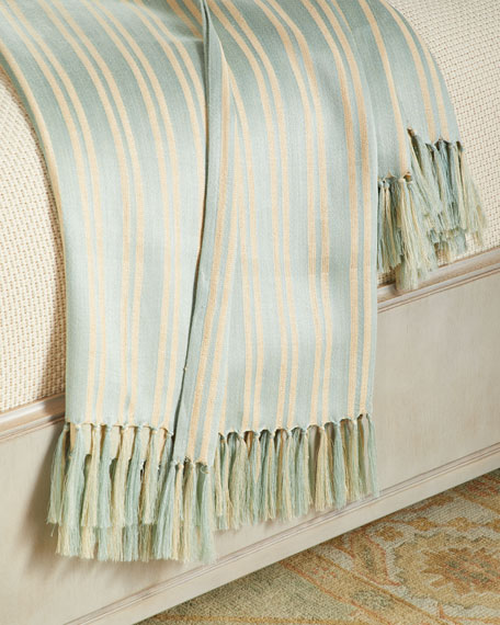 "Bretton Stripe Throw Blanket, 54"" x 72"""