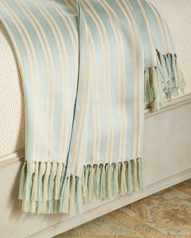 Ralph Lauren Home Bretton Stripe Throw Blanket 54 Quot X 72