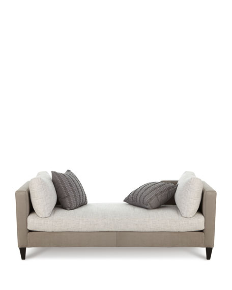 Bristol Sueded Leather Settee