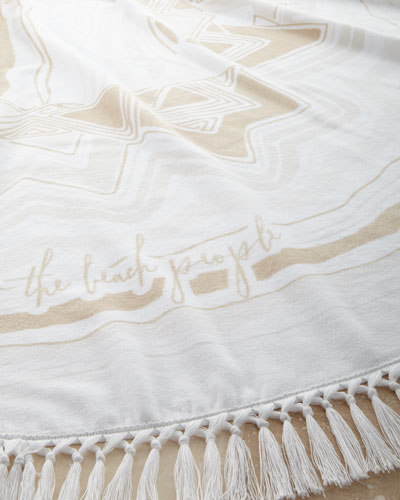 Mirage Roundie Beach Towel