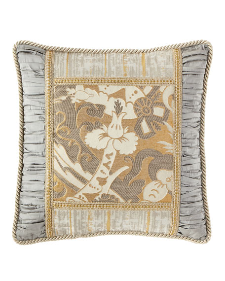 Dian Austin Couture Home Glitz Pieced Boutique Pillow