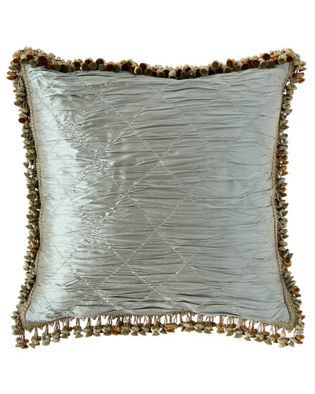 Sweet Dreams Kristi Silk Trellis European Sham