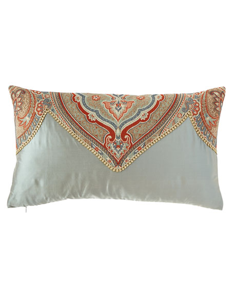Kristi Pieced Oblong Pillow