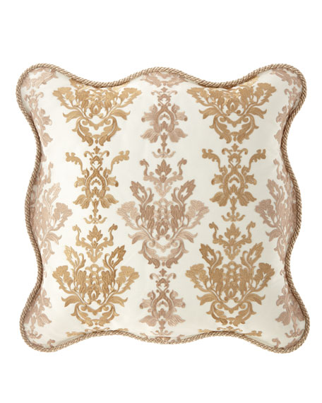 Sweet Dreams Isadora Scalloped European Sham