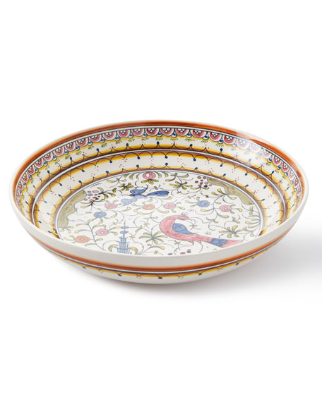Keramos Nazari Pavoes Serving Bowl