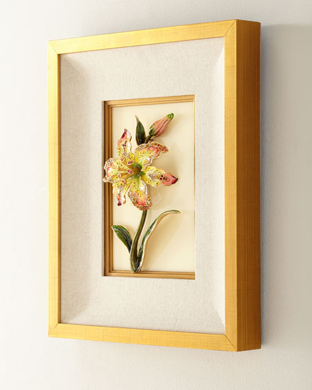 Swarovski&#174 Crystals Lily Wall Art