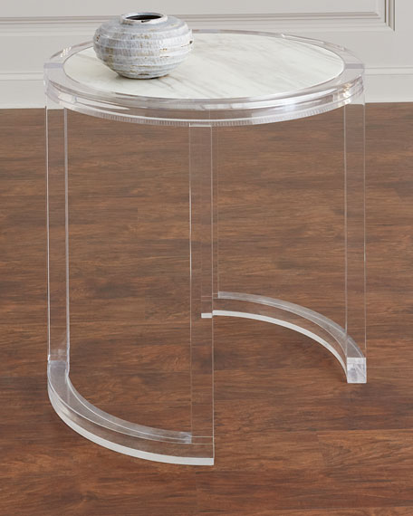 Astra Acrylic Side Table