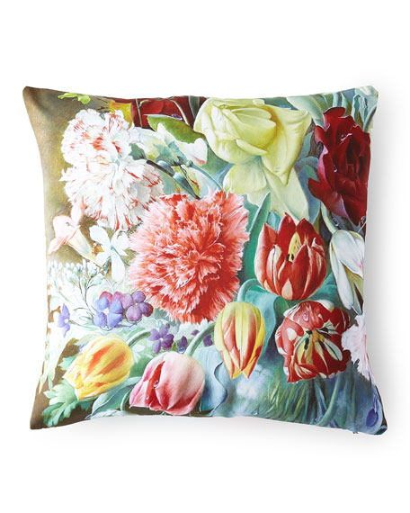Poetic Pillow Regal Carnation Pillow and Matching Items