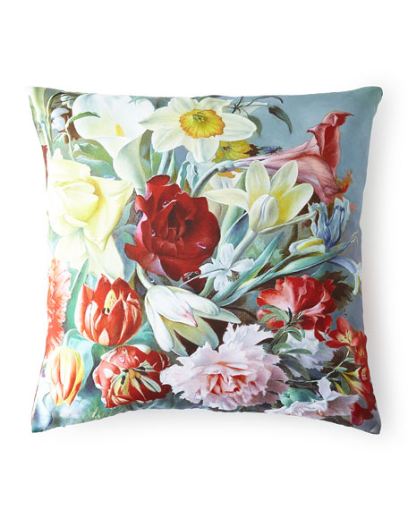 Regal Rose Pillow