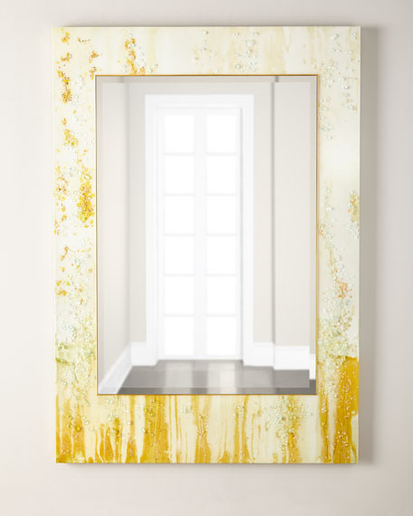 John-Richard Collection Mary Hong's Golden City Mirror