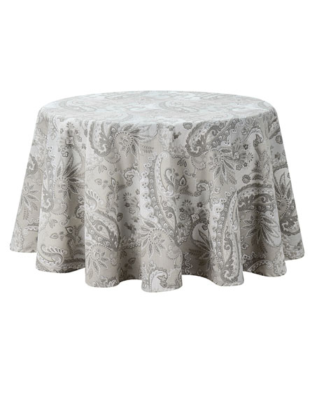 """Taylor Round Tablecloth, 70""""Dia."""