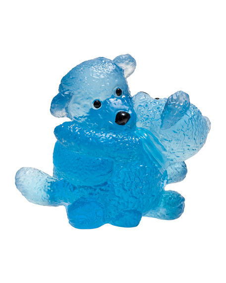 Daum Twin Bears, Blue
