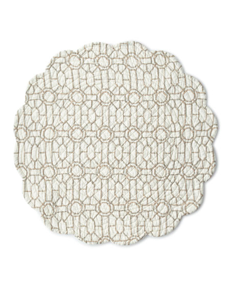 Marianne Round Placemats, Set of 4