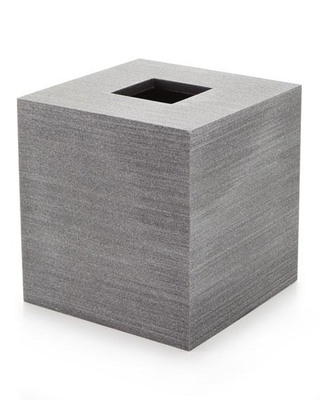 Slate Tissue Box Holder