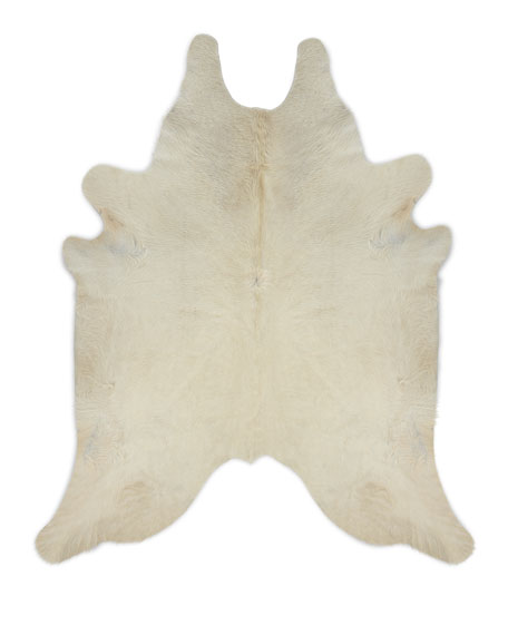 Angelica Hairhide Rug, 5' x 7'