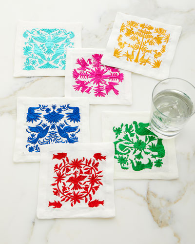 Otomi Cocktail Napkins, Set of 6