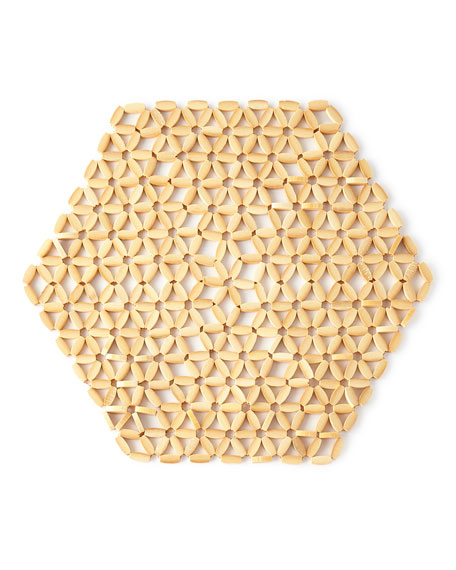 Hexagon Bamboo Placemat
