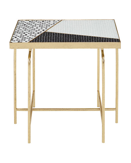Dina Mosaic Tile Side Table