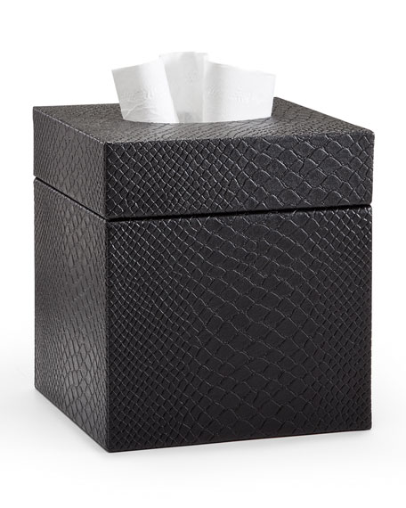 Labrazel Conda Tissue Box Cover, Black