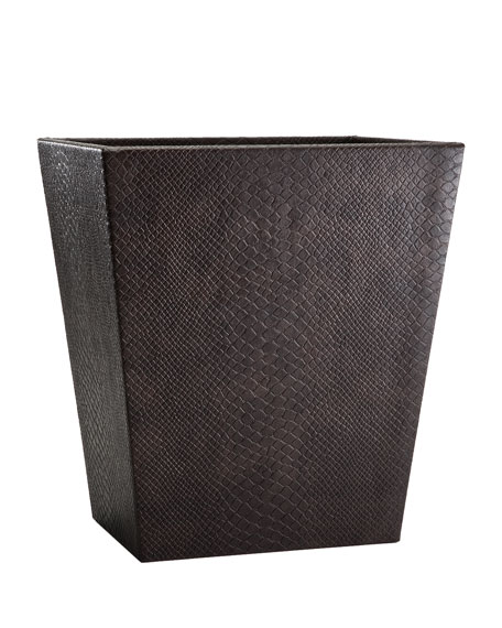 Conda Wastebasket, Brown