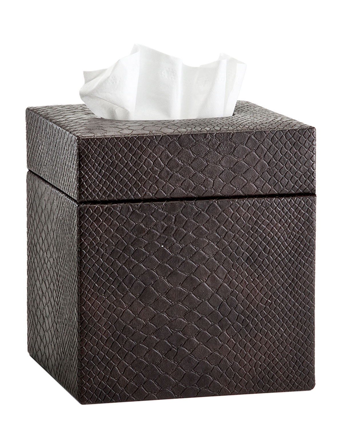 Conda Tissue Box Cover Brown