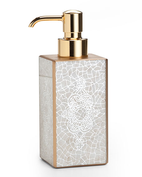 Labrazel Miraflores Pump Dispenser, Gold