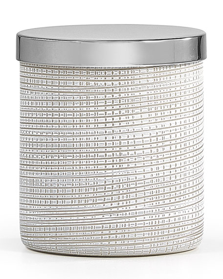 Woven Canister, Platinum