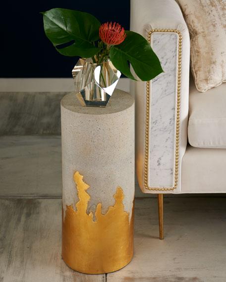 Brilliant Concrete Martini Side Table